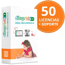 Dibuprint3D Enterprise Soporte GOLD 8x5 Licencias 50
